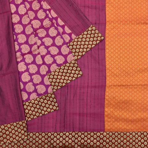 Kanchipuram lavender silk kanchipuram-banaras Work Saree
