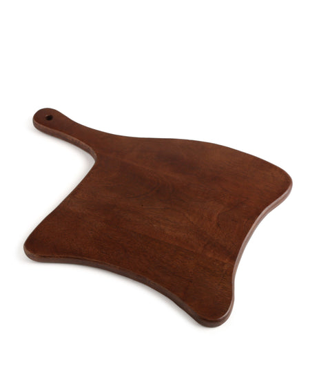 Specially Designed Natural Finish Unusual Shape Chopping Board