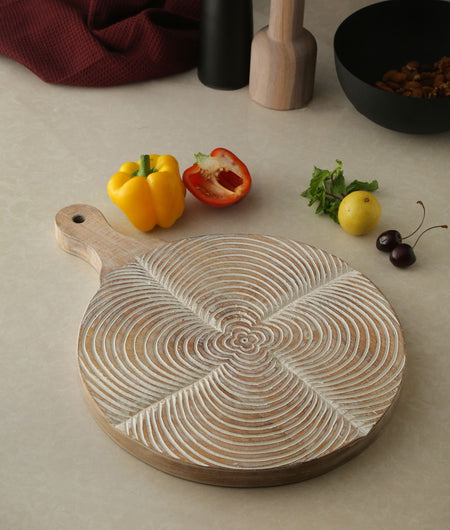 Exclusive Collection Hand Crafted Round Chopping Board