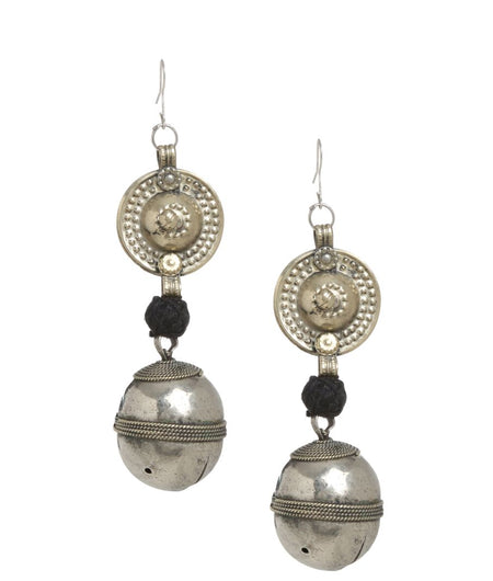 Unique Afghani Bell Earrings