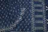 navy blue-saree-MRKSAR0017