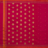 Hot-Pink-Chanderi-Silk-Cotton-Zari-Work-Saree-with-Coin-Motif-FANSAR0015