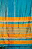 dark sky blue-saree-CKUSAR0007