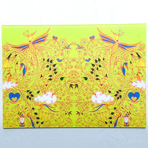 Lively Yellow Bird Place Mat