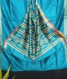 Handloom Silk Handwoven Light Blue Saree