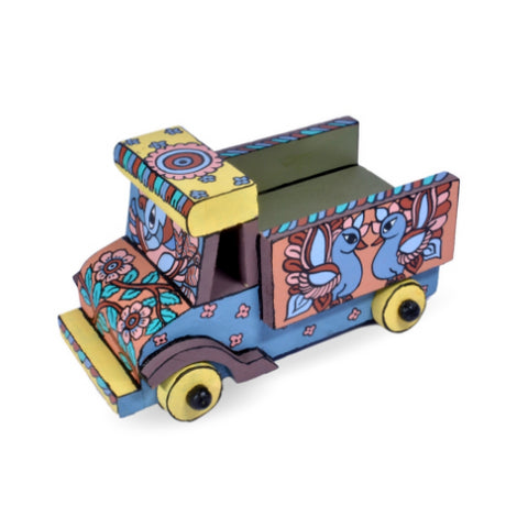 Hand Painted Kalamkari Small Truck