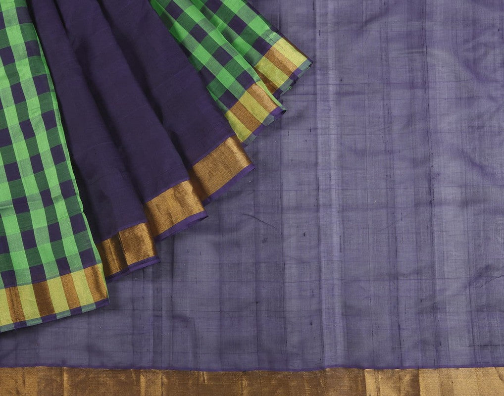 Mangalgiri Cotton Silk Saree In Multicolor