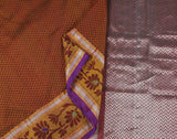 brown-saree-DUHSAR0026