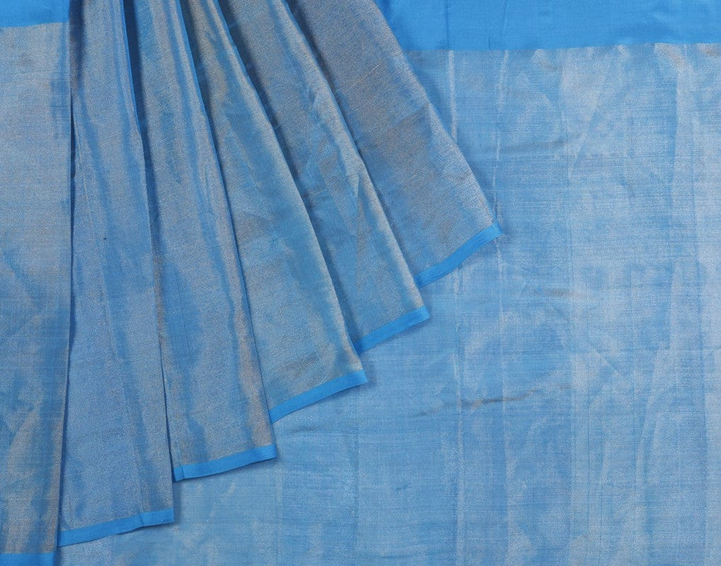 Uppada Silk Saree In Sky Blue