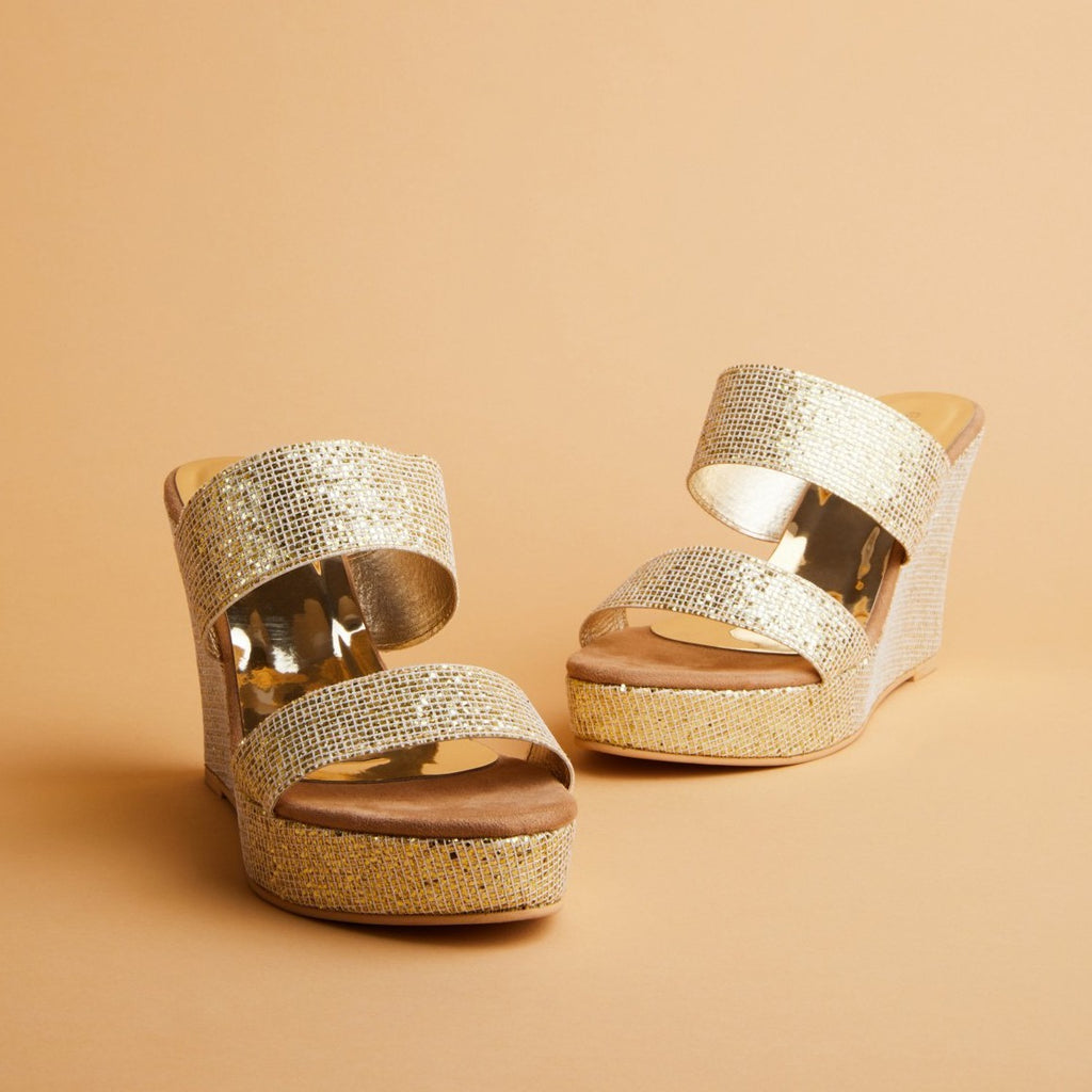 Radiance Gold Wedges