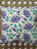 Hand Block Multicolor Cotton Cushion Cover ( Set of 4 )