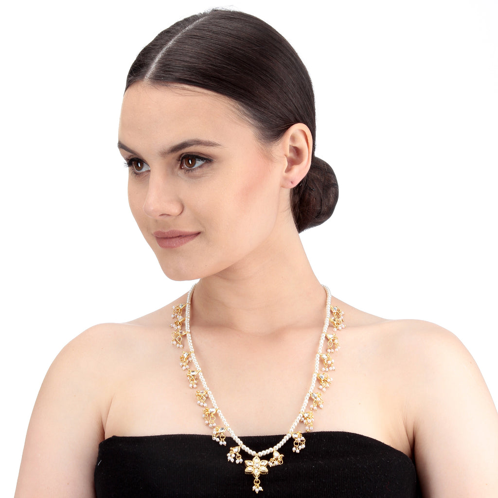 Gold Kundan Necklace