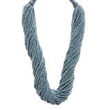 Grey Beads Necklace