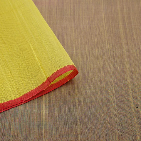 chanderi handwoven chanderi silk multicolor tri color stripes Saree