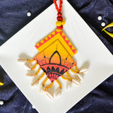Mahal Hand Painted Necklace and Earring Set