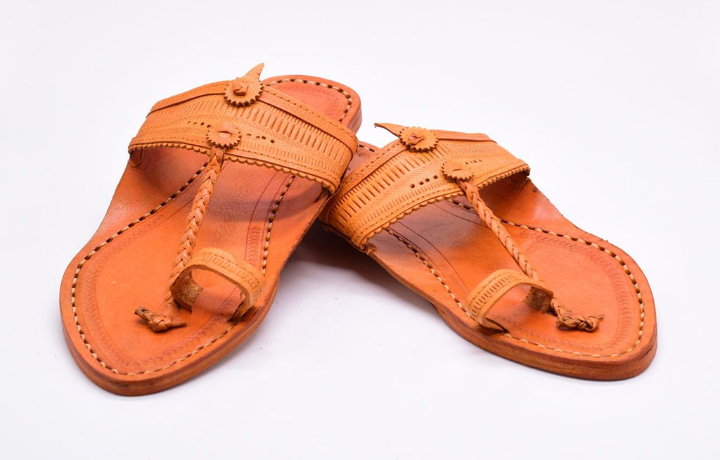 Cintura - Genuine Leather Kolhapuri Chappal for Men
