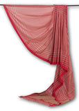 Red -Saree-PROSAR0019