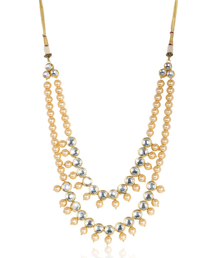 Amoli Kundan and Pearls Necklace