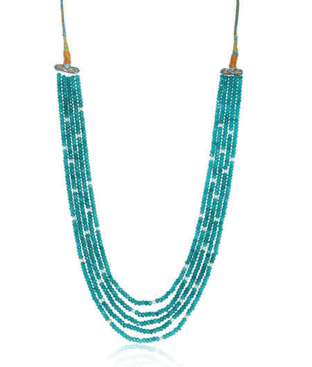 Heer Turquoise Onyx Necklace