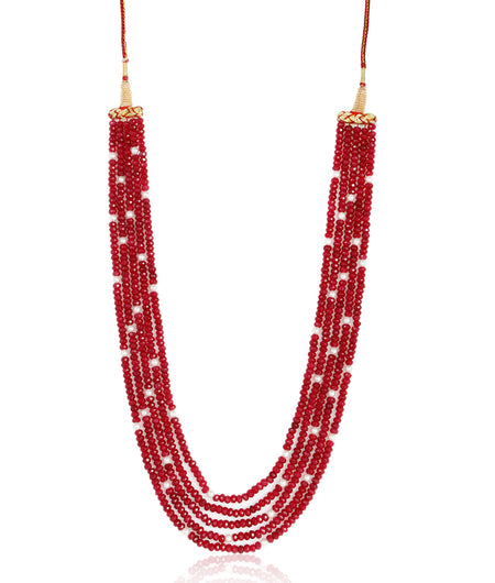 Heer Red Onyx Necklace