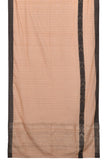Bengal cotton  beige fish motif Saree