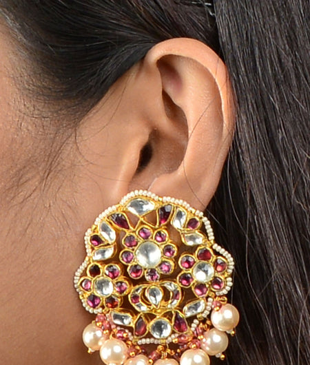 Sabya Rodo Floral Earrings