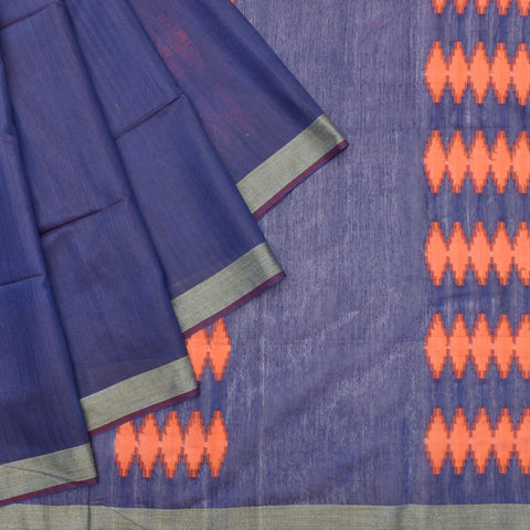 begumpur  handloom blue diamond butta Saree