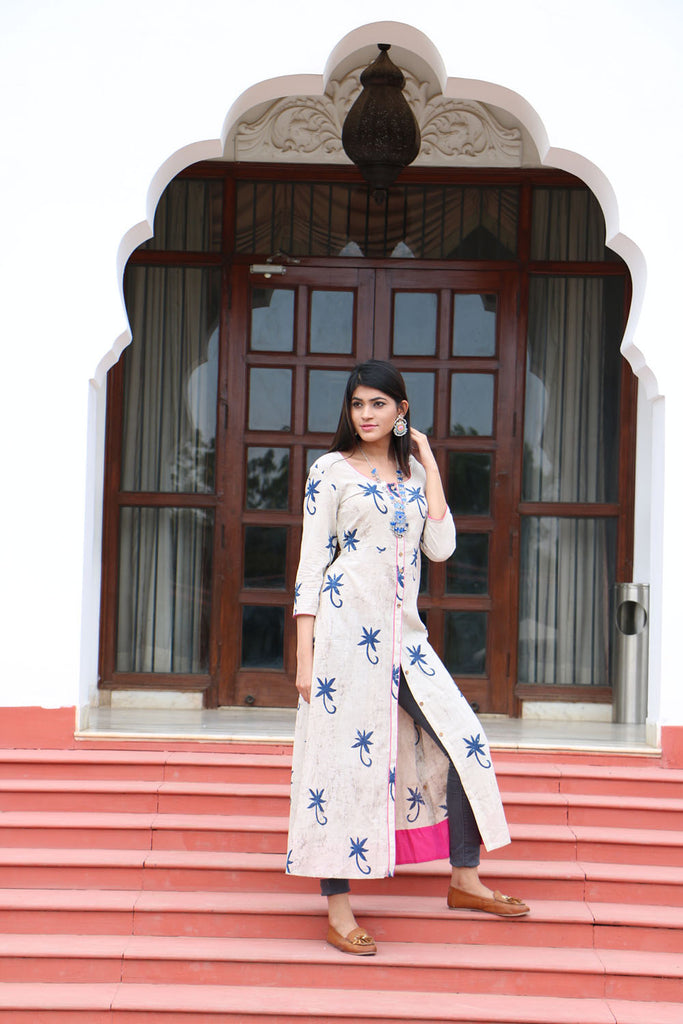 Hand Block Printed Cotton Tunic