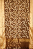 Brown-saree-VICSAR0015