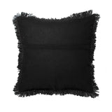 Hand Weave Black Cushion Cover