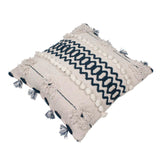 Hand Weave White Cushion Cover