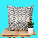 Hand Weave Blue Cushion Cover