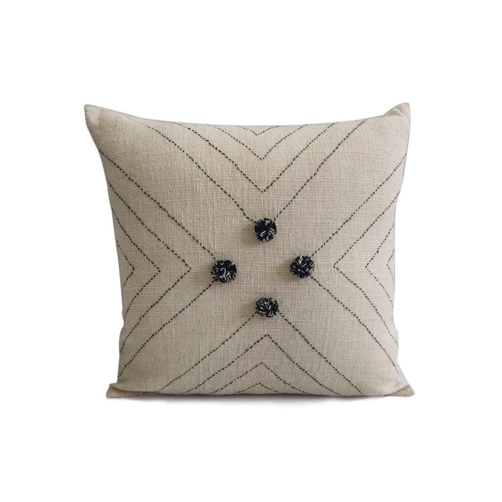 Hand Weave Natural Cushion Cover