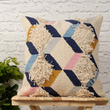 Hand Weave Multicolor Cushion Cover