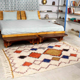 Multicolor Hand Weave Rugs (6ft x 4ft)