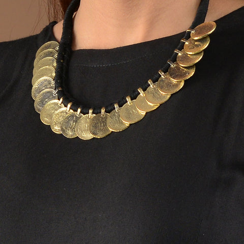 Gold Coins Necklace