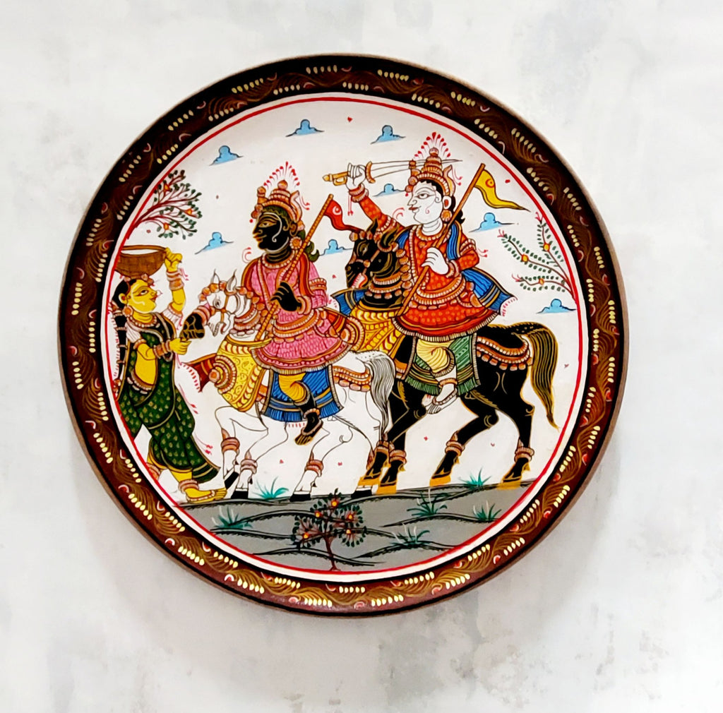 Pattachitra Kaanchi Abhijaan Wall Plate