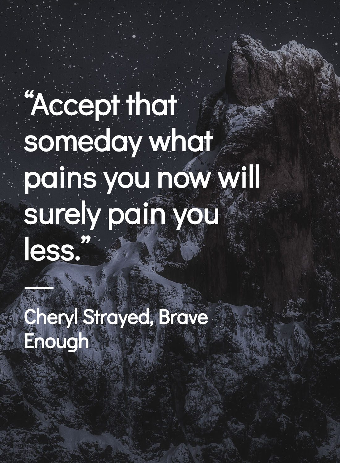 Brave Enough Cheryl Strayed Quotes