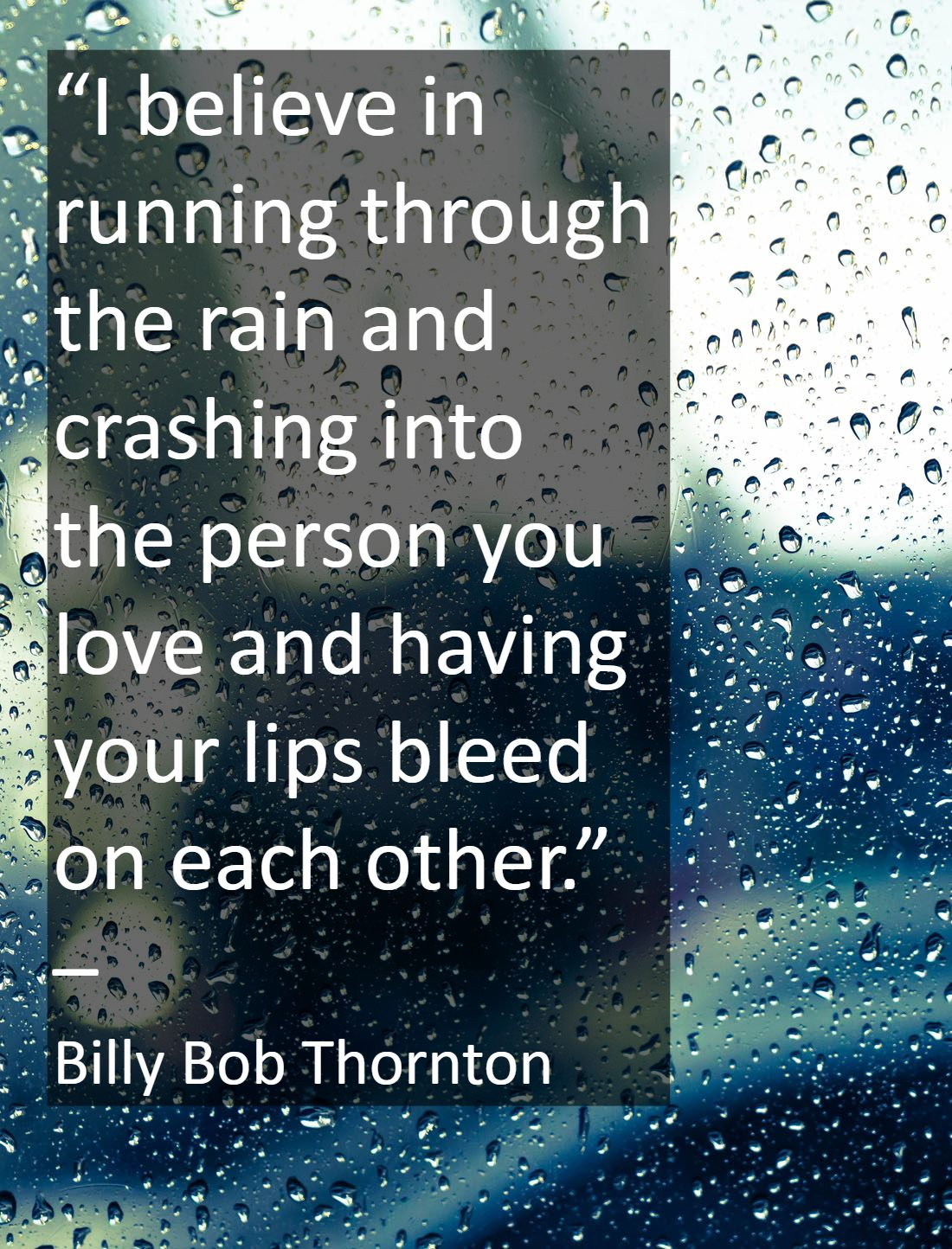 Rainy Weather Quotes