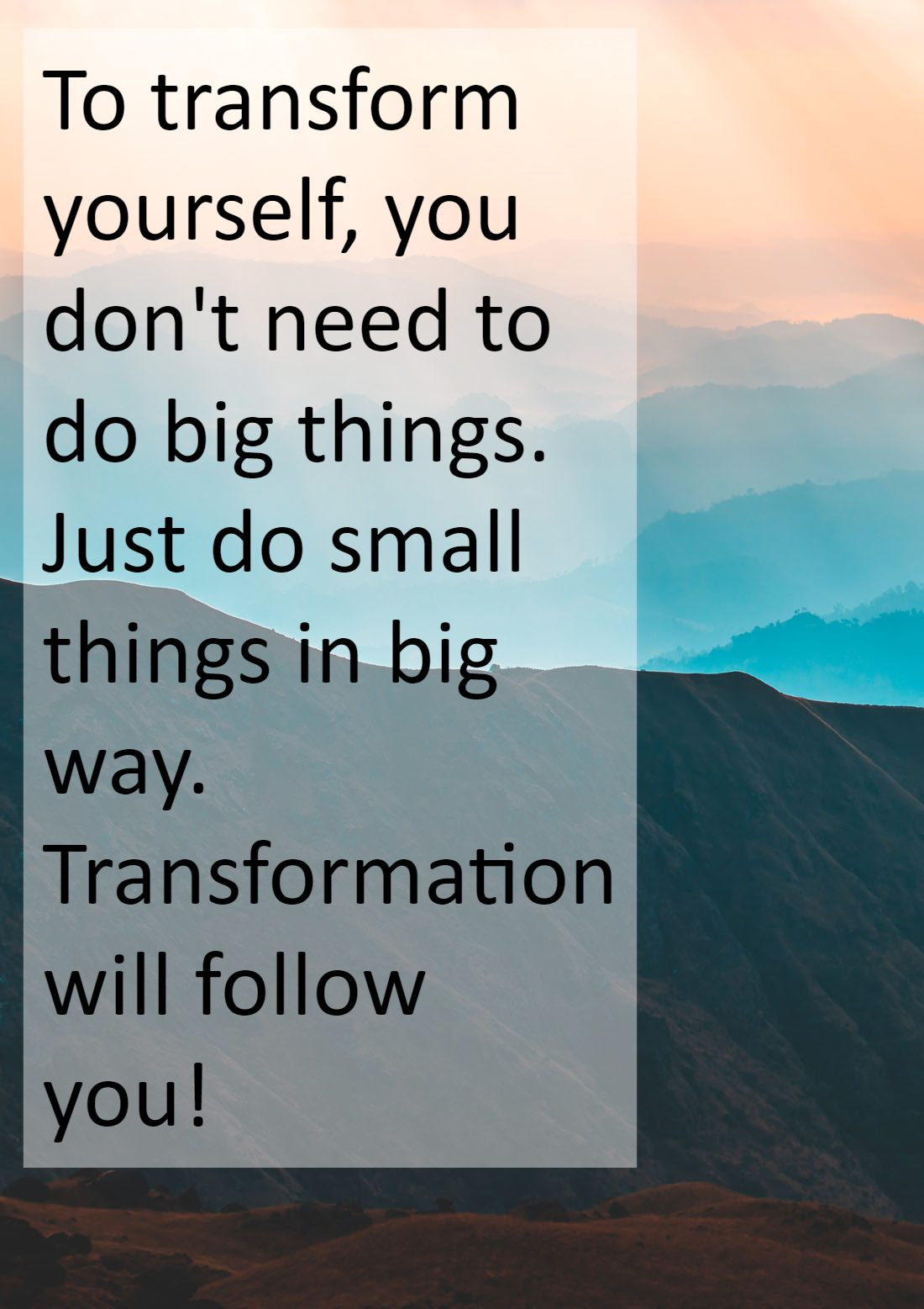 Transformation Quotes