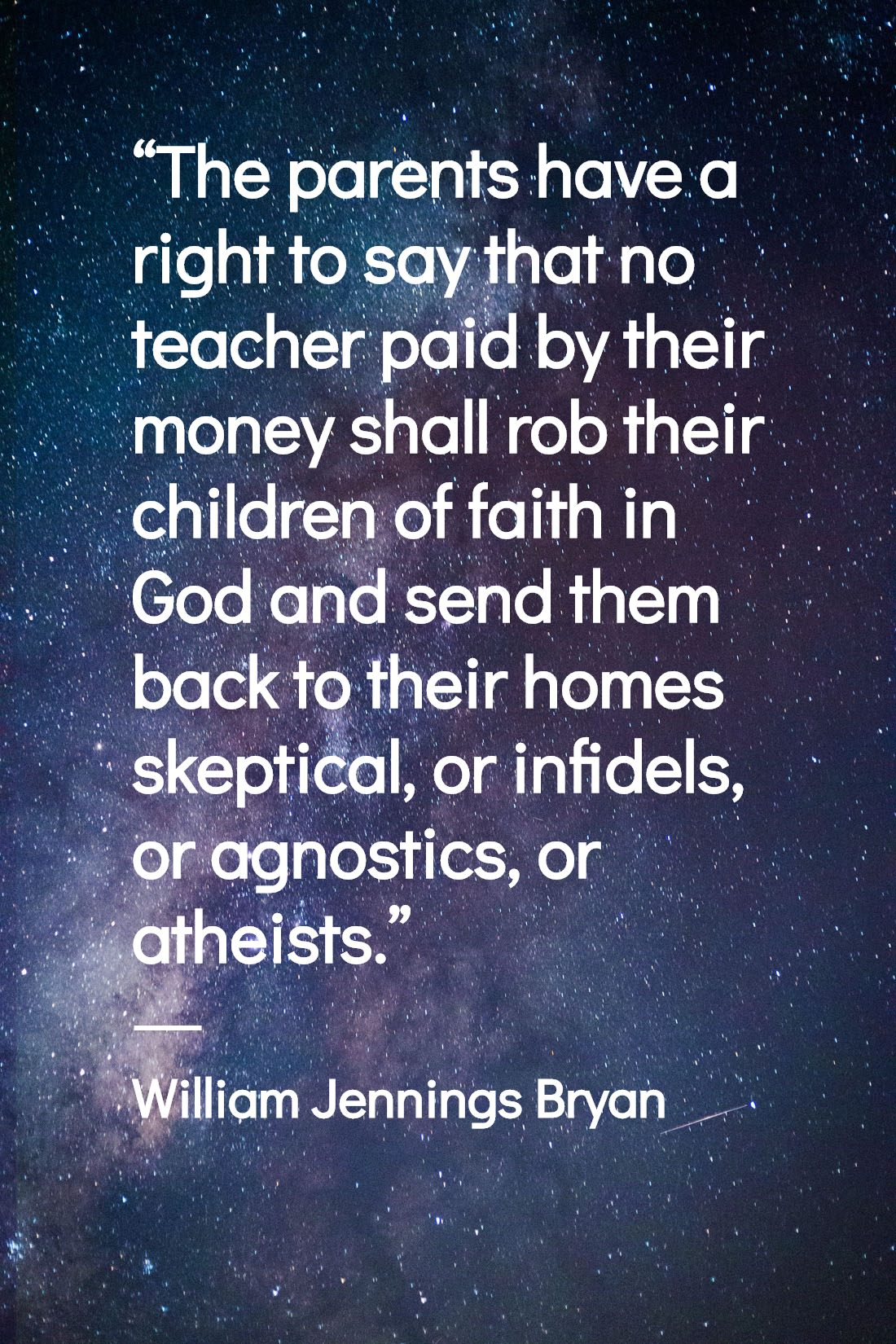 William Jennings Bryan Quotes