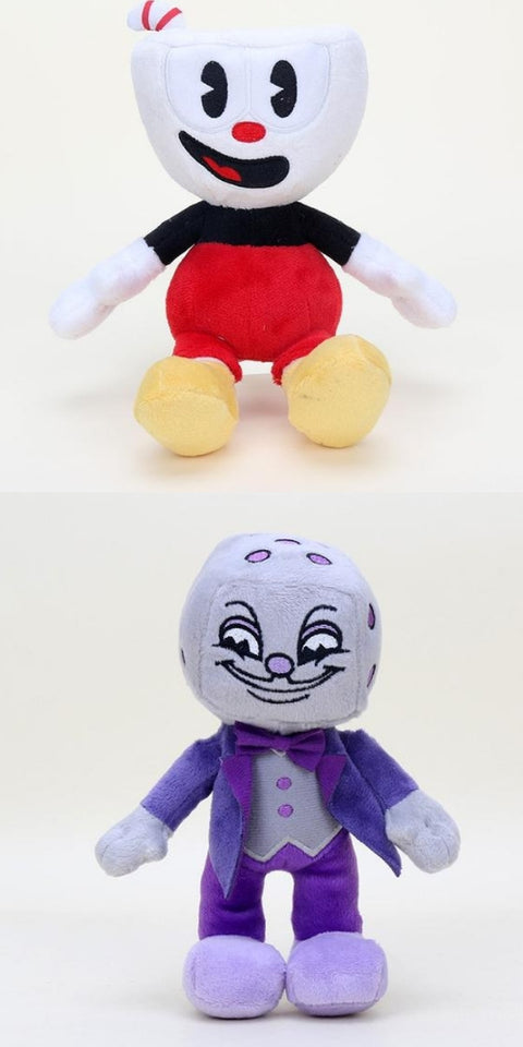 Cuphead S1-King Dice plush Mugman the Devil Boss