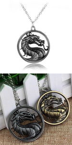 Mortal Kombat necklace dragon
