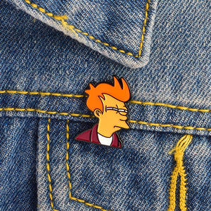 Philip J. Fry Brooch Pin