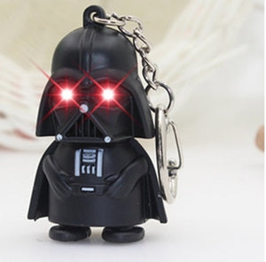 Star Wars Darth Vader key chain model with sound and LED