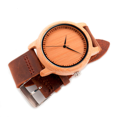Bamboo Wood Watches for Men and Women