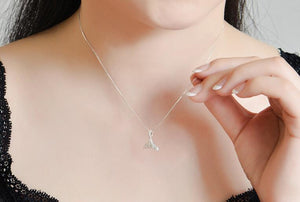 Whale Tail Jewelry Pendant Necklace