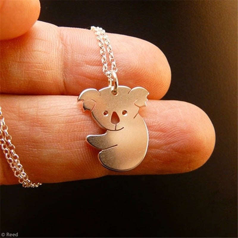 Cute animal necklace jewelry