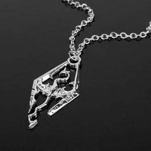 Dragon The Elder Scrolls V Pendant Necklace