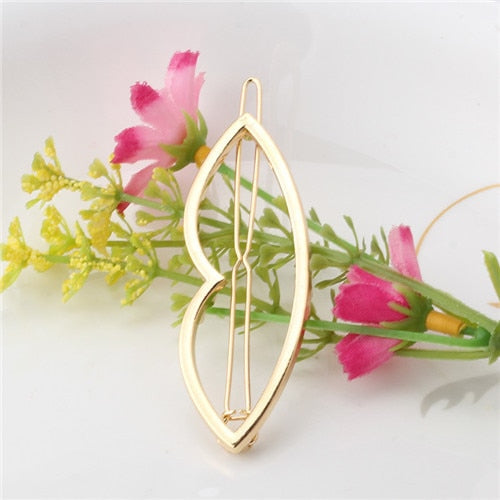 Trendy Geometric shaped Hair Clips for Women